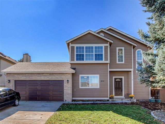 854 Homestead Drive, Highlands Ranch, CO 80126 (#4621454) :: The HomeSmiths Team - Keller Williams