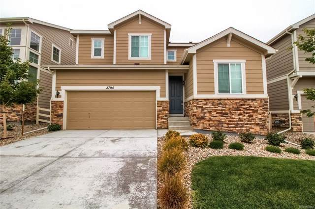 2705 Garganey Drive, Castle Rock, CO 80104 (#4625079) :: The HomeSmiths Team - Keller Williams