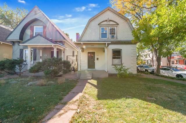 244 W 3rd Avenue, Denver, CO 80223 (#4627831) :: iHomes Colorado