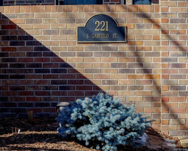 221 S Garfield Street #112, Denver, CO 80209 (#4629526) :: The Peak Properties Group