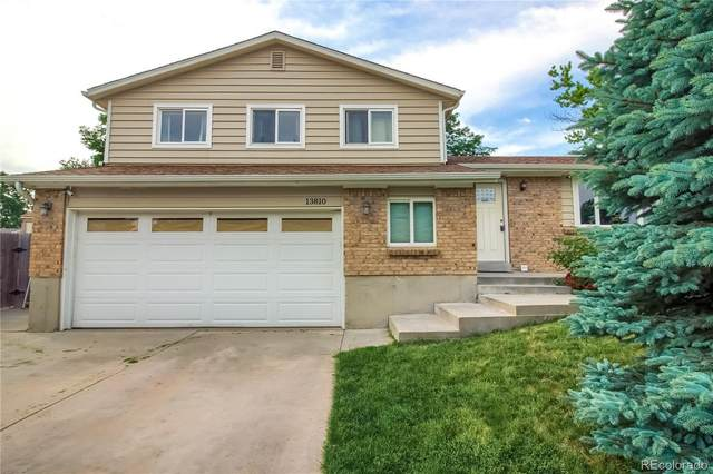 13810 W 75th Place, Arvada, CO 80005 (#4635619) :: The DeGrood Team