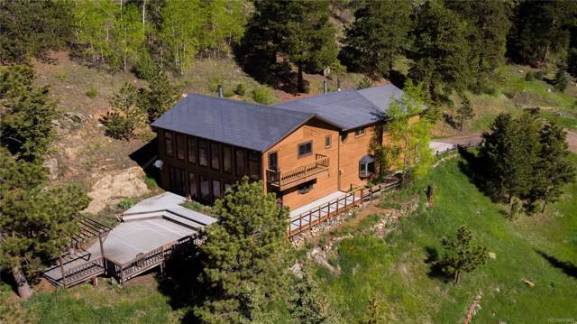 4005 Douglas Mountain Drive, Golden, CO 80403 (#4636006) :: The Peak Properties Group
