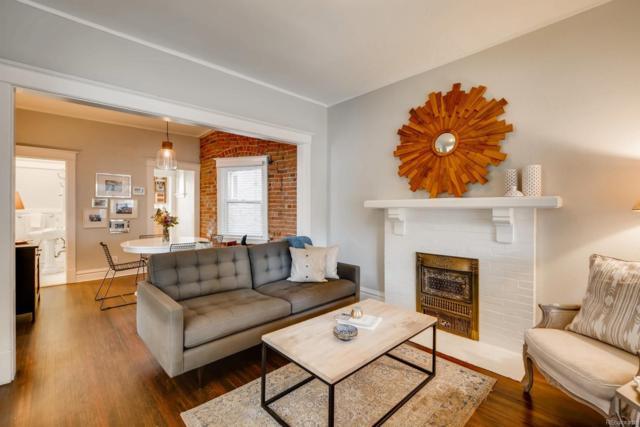 1316 E 8th Avenue, Denver, CO 80218 (#4644569) :: Wisdom Real Estate