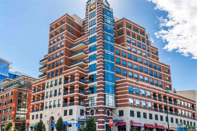 1590 Little Raven Street #703, Denver, CO 80202 (#4646679) :: 5281 Exclusive Homes Realty