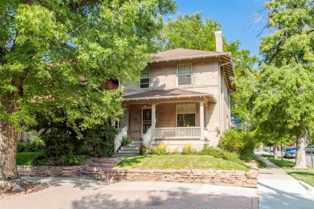 502 N Corona Street, Denver, CO 80218 (#4647704) :: The Galo Garrido Group