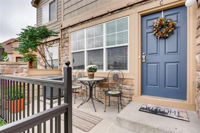 5732 S Addison Way C, Aurora, CO 80016 (#4647980) :: The Griffith Home Team
