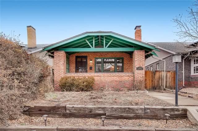 306 N Sherman Street, Denver, CO 80203 (#4648574) :: The Dixon Group