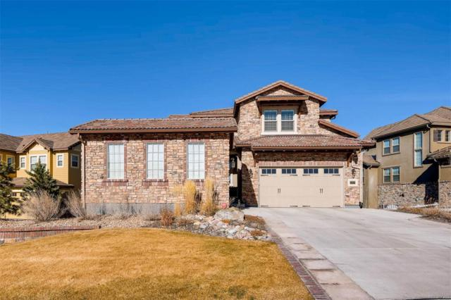 10807 Timberdash Avenue, Highlands Ranch, CO 80126 (#4651434) :: The Griffith Home Team