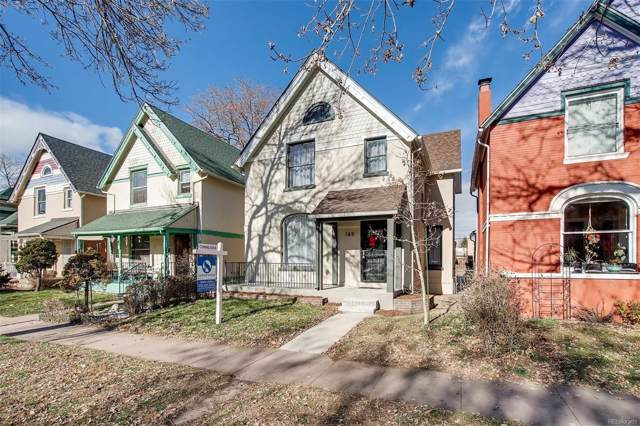 169 W Byers Place, Denver, CO 80223 (#4654026) :: HomeSmart Realty Group