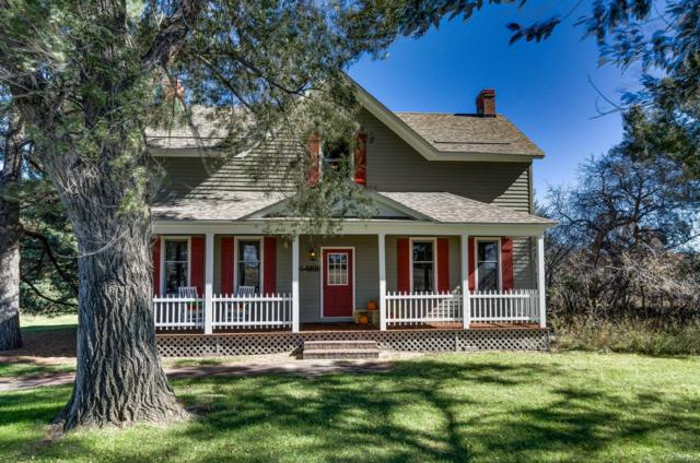 36488 County Road 13, Elizabeth, CO 80107 (#4654541) :: The HomeSmiths Team - Keller Williams