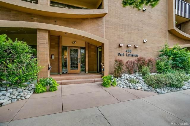 400 S Lafayette Street 807 & 808, Denver, CO 80209 (#4655302) :: My Home Team