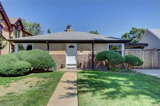 842 Pontiac Street, Denver, CO 80220 (MLS #4658195) :: 8z Real Estate