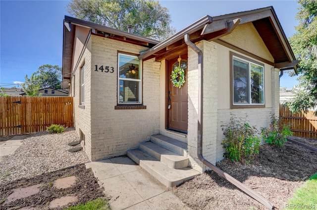 1453 Rosemary Street, Denver, CO 80220 (MLS #4661495) :: Stephanie Kolesar