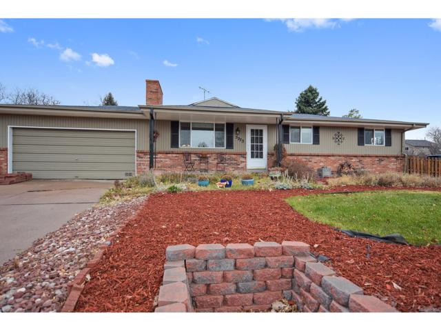5273 S Newton Street, Littleton, CO 80123 (#4663509) :: The Peak Properties Group