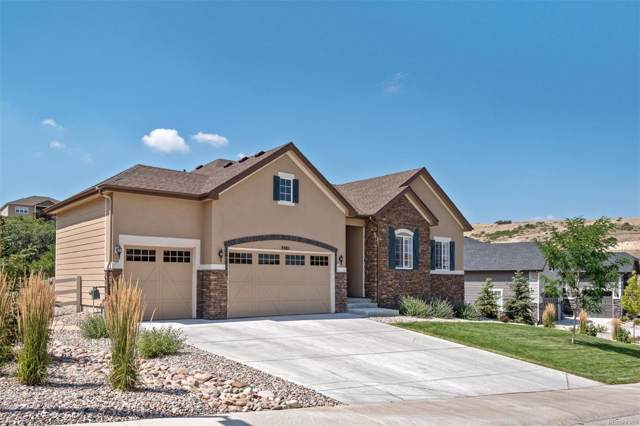 3901 Mighty Oaks Street, Castle Rock, CO 80104 (#4665756) :: The HomeSmiths Team - Keller Williams