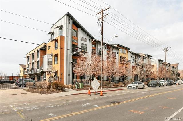 3149 Blake Street #104, Denver, CO 80205 (#4669085) :: Wisdom Real Estate
