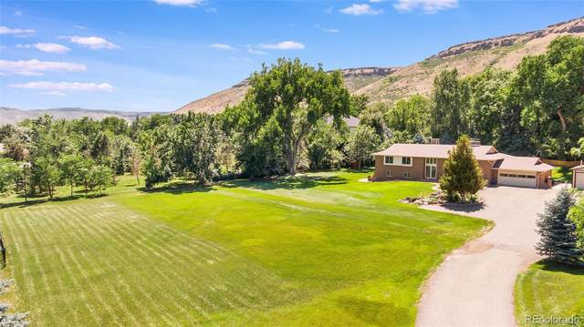 16494 W 52nd Place, Golden, CO 80403 (#4673407) :: The Gilbert Group