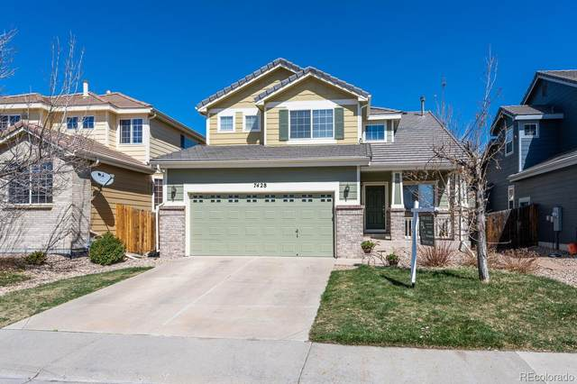 7428 S Lewiston Street, Aurora, CO 80016 (#4675143) :: The Artisan Group at Keller Williams Premier Realty