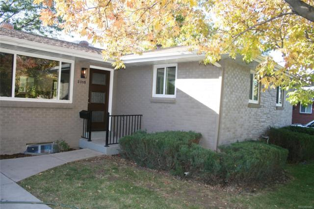 2015 S Xavier Street, Denver, CO 80219 (MLS #4677262) :: 8z Real Estate