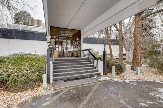 2375 S Linden Court #308, Denver, CO 80222 (#4678302) :: The Peak Properties Group