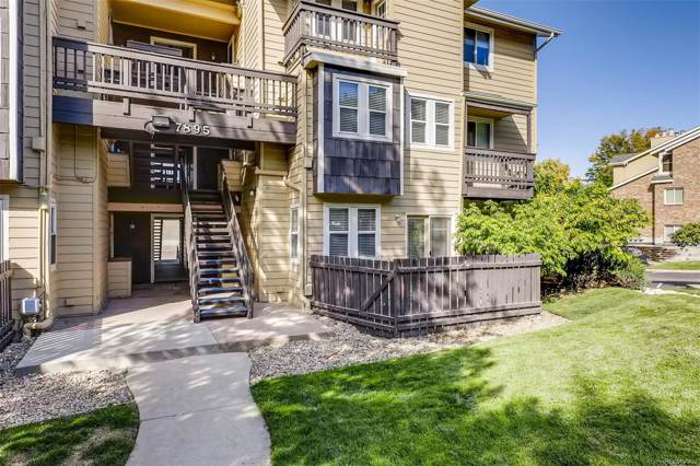 7895 Allison Way #103, Arvada, CO 80005 (#4679206) :: Bring Home Denver with Keller Williams Downtown Realty LLC