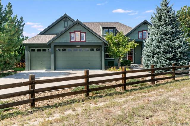 1631 Wild Blossom Way, Castle Rock, CO 80104 (#4682733) :: The Gilbert Group