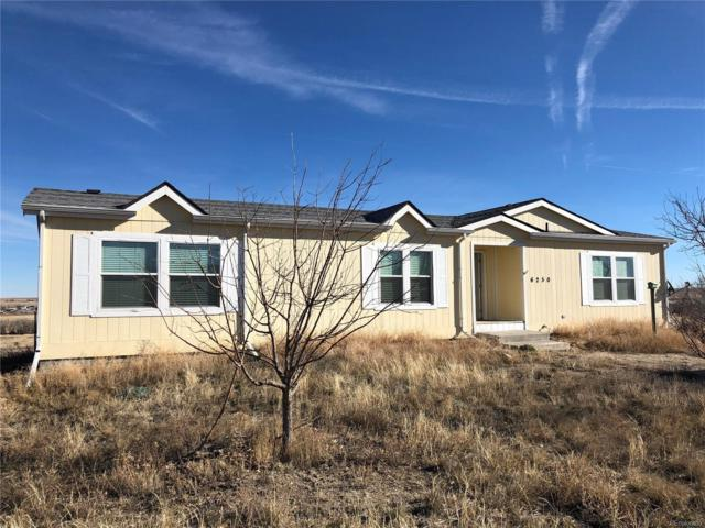 6250 S 213 Road, Deer Trail, CO 80105 (MLS #4683549) :: Bliss Realty Group