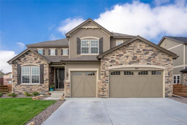 204 Horizon Avenue, Erie, CO 80516 (#4686153) :: The City and Mountains Group