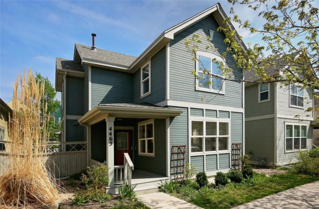 4465 W 37th Avenue, Denver, CO 80212 (#4698037) :: The Healey Group