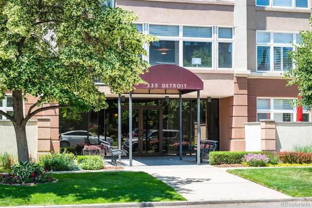 335 Detroit Street #403, Denver, CO 80206 (MLS #4699344) :: 8z Real Estate