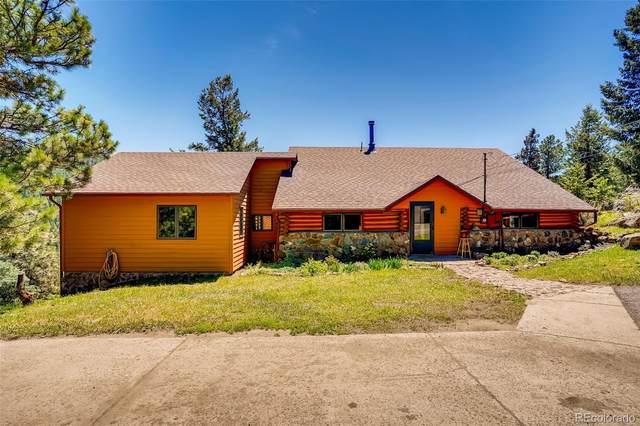 4916 S Evergreen Trail, Evergreen, CO 80439 (#4701478) :: iHomes Colorado