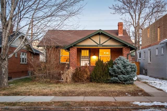920 Jackson Street, Denver, CO 80206 (MLS #4703867) :: The Sam Biller Home Team