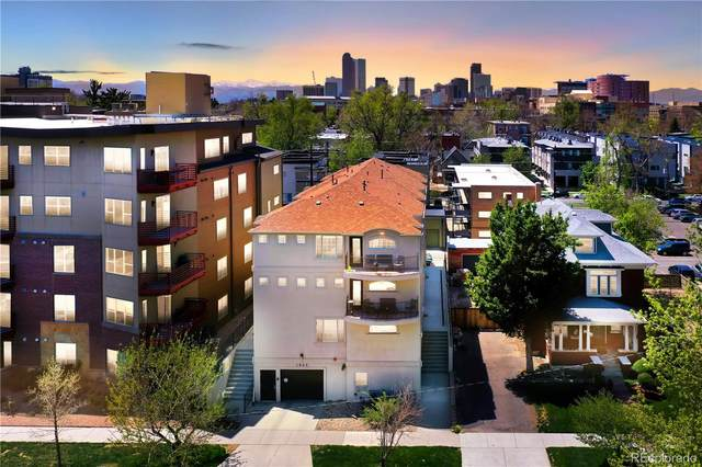 1865 Gaylord Street D, Denver, CO 80206 (#4708916) :: Kimberly Austin Properties