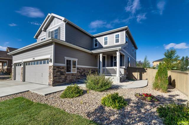 493 Sudbury Street, Castle Rock, CO 80104 (#4709174) :: The DeGrood Team