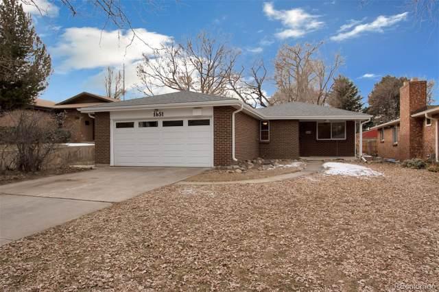 1851 S Fillmore Street, Denver, CO 80210 (MLS #4715013) :: Colorado Real Estate : The Space Agency