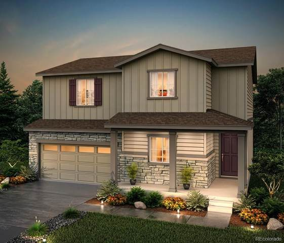 5205 Blue Lunar Lane, Castle Rock, CO 80104 (#4715455) :: The Dixon Group