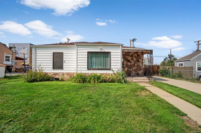 1921 W Chaffee Place, Denver, CO 80211 (#4717517) :: The City and Mountains Group