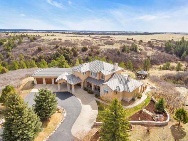 5400 Willow Creek Road, Castle Rock, CO 80104 (#4717645) :: The Peak Properties Group