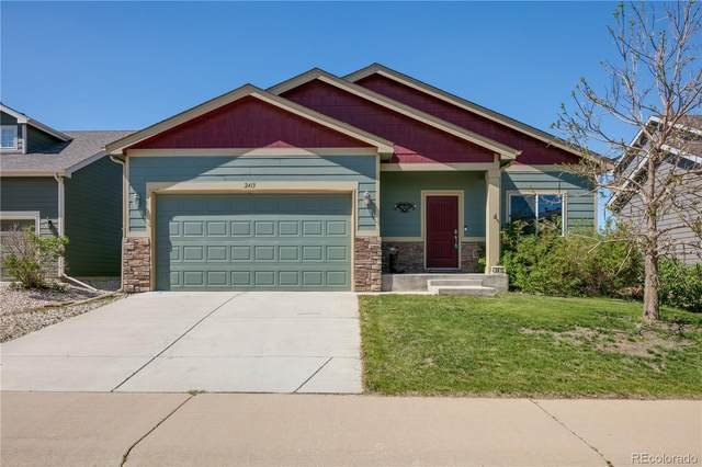 2413 Carriage Drive, Milliken, CO 80543 (#4720606) :: The Dixon Group