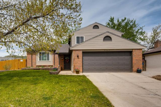 4885 S Braun Street, Morrison, CO 80465 (#4722716) :: The Pete Cook Home Group