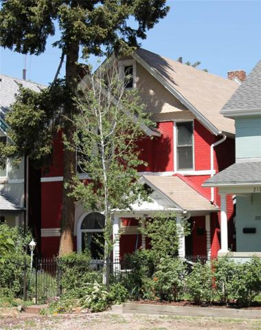 216 N Lincoln Street, Denver, CO 80203 (#4724381) :: The Healey Group