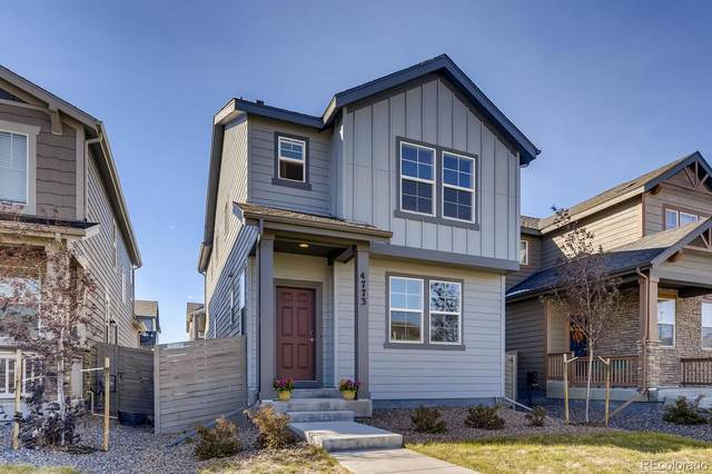 4773 N Kittredge Street, Denver, CO 80239 (MLS #4725663) :: The Sam Biller Home Team