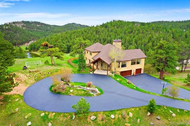32988 Alta Vista Drive, Evergreen, CO 80439 (#4727555) :: The Gilbert Group
