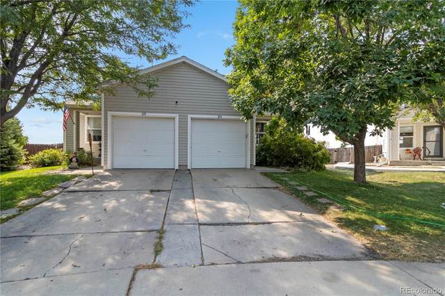 253 Ponderosa Place, Fort Lupton, CO 80621 (#4730627) :: The DeGrood Team