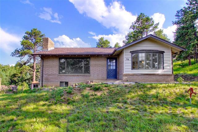 46 Conifer Road, Golden, CO 80401 (#4733722) :: The Peak Properties Group
