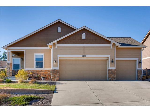 1385 Diamond Rim Drive, Colorado Springs, CO 80921 (MLS #4735135) :: 8z Real Estate