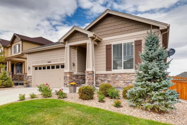 7499 Blue Water Drive, Castle Rock, CO 80108 (#4735377) :: The HomeSmiths Team - Keller Williams