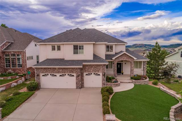 1589 Rosemary Drive, Castle Rock, CO 80109 (#4738400) :: The Gilbert Group