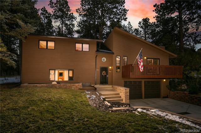 6006 Ponderosa Way, Parker, CO 80134 (#4744061) :: The Griffith Home Team