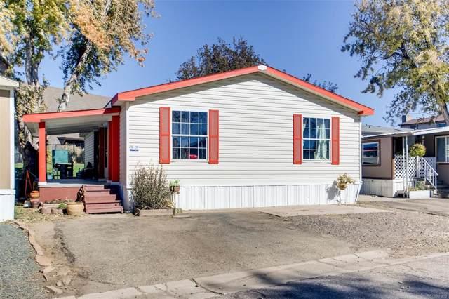14470 E 13th Avenue H19, Aurora, CO 80011 (#4744151) :: The Peak Properties Group